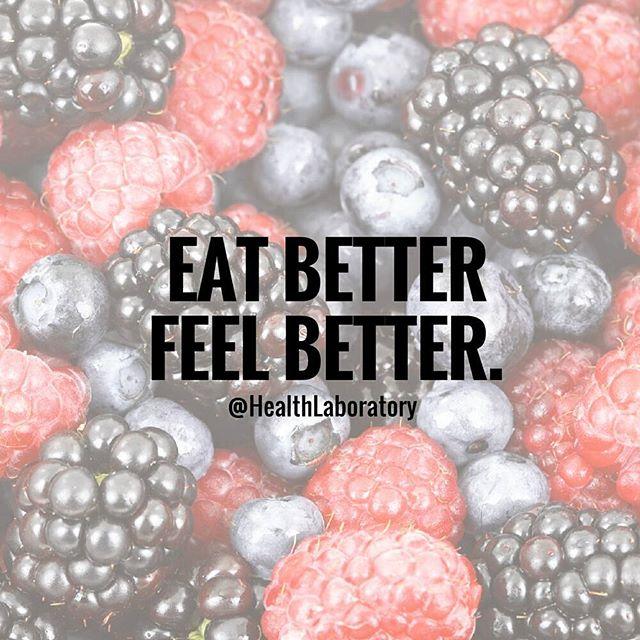 Eat Better Feel Better